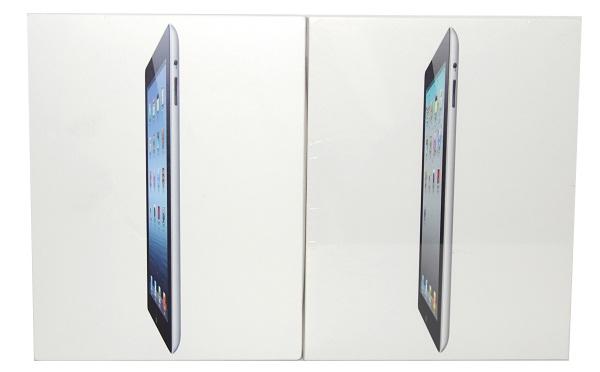 Сравнение коробок ipad3 и ipad2