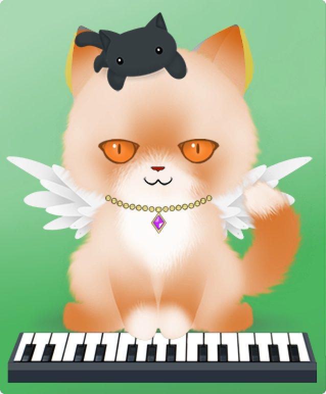 Кот на iPad