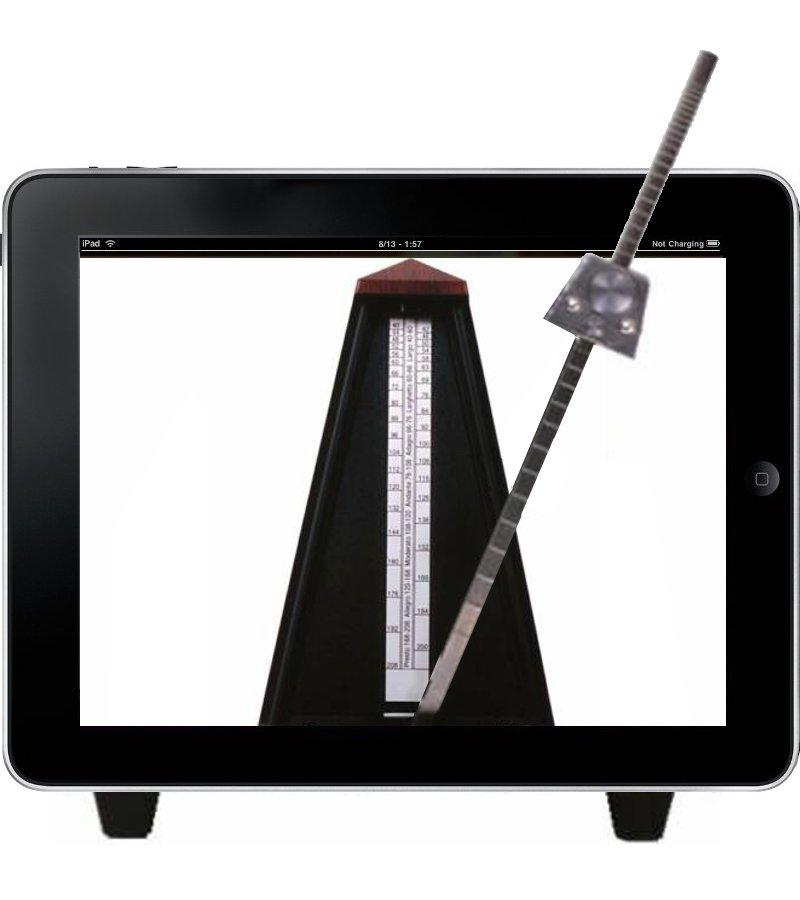 Метроном на iPad