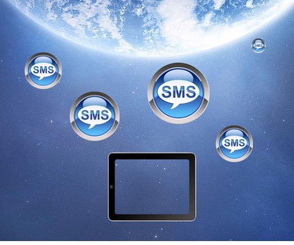 Как послать SMS с iPad
