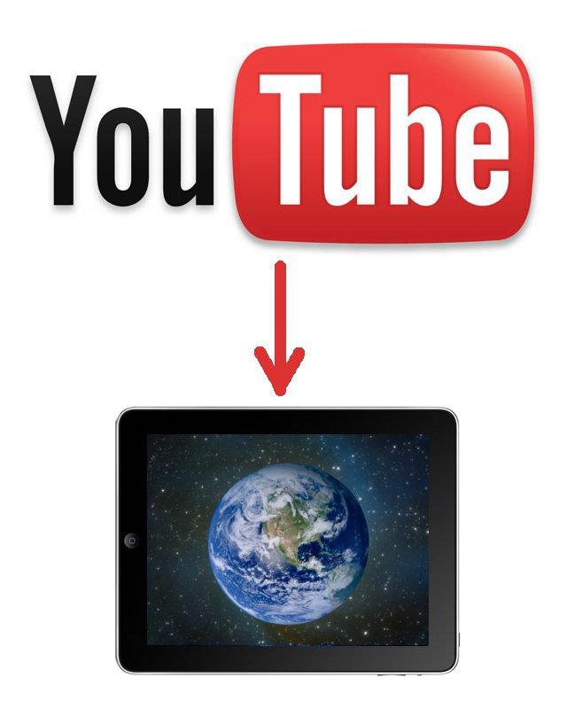 Скачать с youtube на iPad