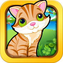 Kittens and Cats games for kids, toddlers and preschoolers - jigsaw and other piece matching games