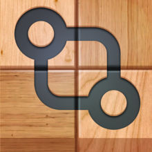 Connect it! Wooden puzzle