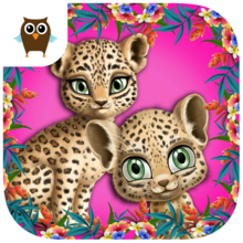 Baby Jungle Animal Hair Salon - Crazy Makeover