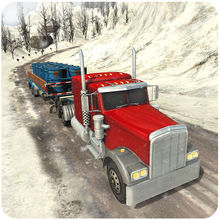 Off-Road Snow Hill Truck 3D - 18 Wheeler Transporter трейлер Моделирование