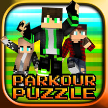 Parkour Puzzle – Find The Button FreeRunner Craft