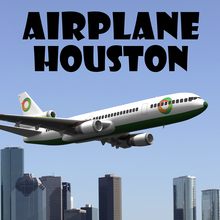Airplane Houston