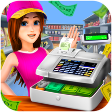 Supermarket Cash Register - Kids Fun Shopping Game
