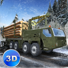 Winter Logging Truck Simulator 3D Full