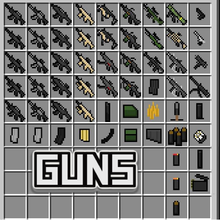 Guns Mod - Weapons