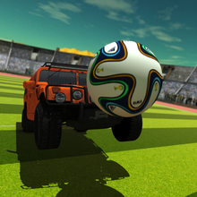 4x4 Car Soccer Football Championship in Stadium