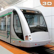 Вождение в City Metro Train Sim 3D