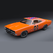 American Muscle Cars Drift 3D
