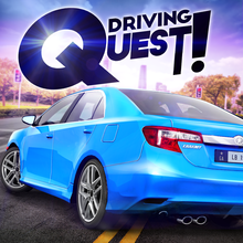 Driving Quest: Top View Puzzle