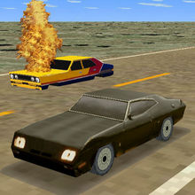 Mad Road 3D - Combat cars game