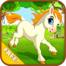Baby Horse Run : My Cute Pony and Little Birds 2