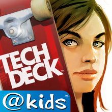 Tech Deck Skateboarding @Kids