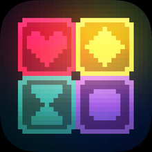 Glow Grid - a retro puzzle game