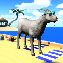 Goat Frenzy Simulator 2 : Beach Party