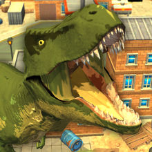Jurassic Rampage: Smash the City!