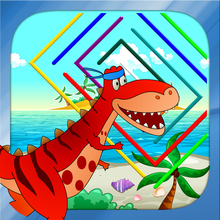 Dino Maze: kids learning games