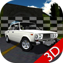 Russian Car Lada Racing 3D