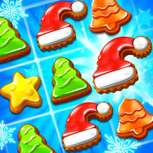 Christmas Cookie - Match 3 Game