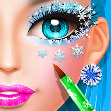 Ice Princess Salon Fever - Birthday Party Makeover! Bubble SPA Center Girls Games