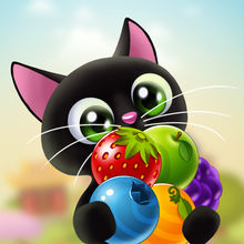 Fruity Cat - bubble shooter