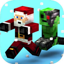 Crossy Creeper: герои гонки в Skins остров