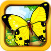 Animal puzzles Butterfly Edition for kids, toddlers and preschoolers - jigsaw and different pieces puzzles