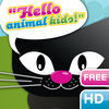 Heydooda! The kitty says: Hello animal kids