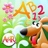 Magic Garden with Letters and Numbers - A Logical Game for Kids