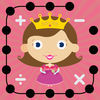 Math Dots(Fairy Princess): Connect The Dot Puzzle Game/ Flashcard Drills App for Addition & Subtraction