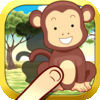 Animals Around The Equator - Beautiful free puzzle game for toddlers and kids
