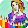 Princess Fairy Coloring Book - Kids Coloring Doodle Pad