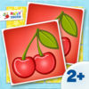 Activity Matching Cards: Delicious Food Pairs - Matching Game - Kids Apps for toddlers and preschoolers aged 2 and above - by Happy Touch Kids Games®