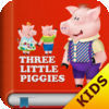 The Three Little Pigs Free - Interactive bedtime story book