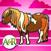 Ponies and Horses Activities for Kids: Puzzles, Drawing and other Games