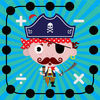Math Dots(Pirates) - Connect To The Dot Puzzle / Kids Pirate Flashcard Drills for Adding & Subtracting