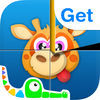 Kids' First Cube Puzzle Freemium - Parrot the Pirate, Doctor Fox, Detective Squirrel and Friends